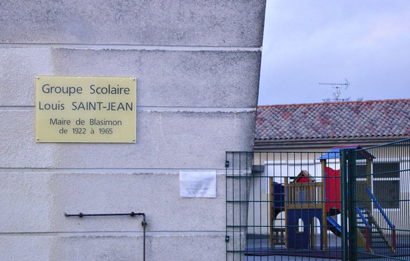 Groupe scolaire Louis Saint Jean Blasimon