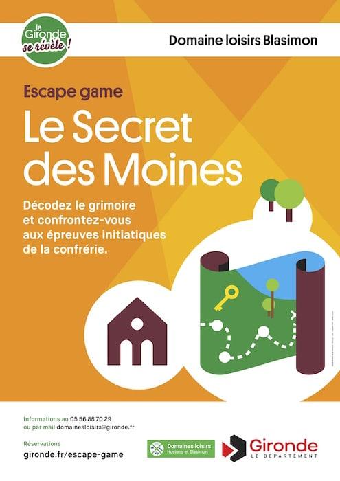 Lac de Blasimon - Escape Game Le Secret des moines