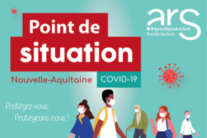 Point de situation COVID-19 en Nouvelle-Aquitaine