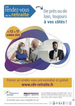 6e édition des Rendez-vous de la retraite du 12 au 17 octobre 2020
