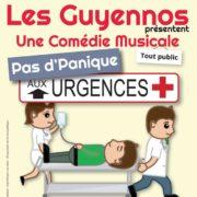 Pas d'Panique aux urgences à la salle des Fêtes Saint Romain de Sauveterre de Guyenne dimanche 28 janvier 2018 à 14h