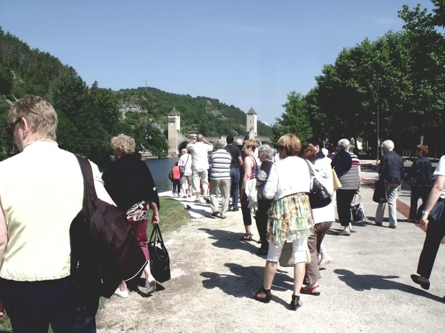 Sortie des Aînés ruraux de Blasimon à Cahors