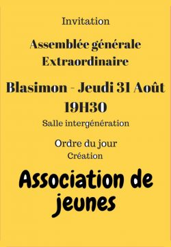 Association des jeunes de Blasimon