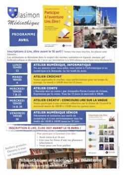 Vous avez entre 6 et 16 ans, venez vite vous inscrire à Lire, élire 2021 ! Prolongation des inscriptions jusqu'au 30 avril.