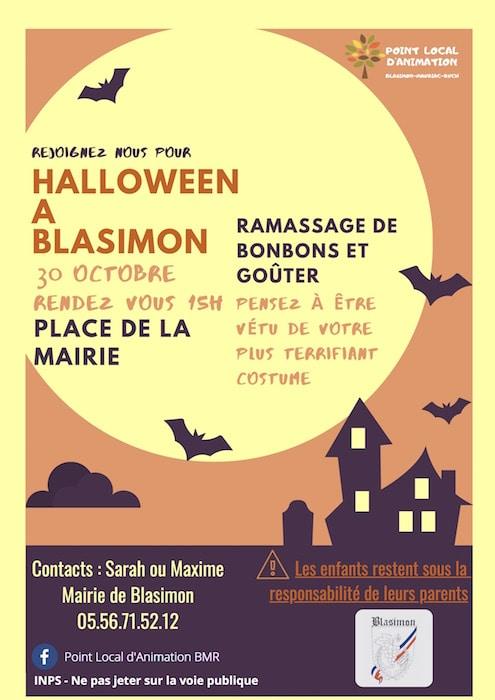 Halloween à Blasimon - 2020