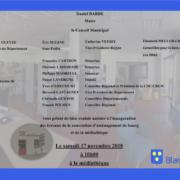 Inauguration Bibliotheque de Blasimon samedi 17 novembre 2018