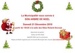 Noël des enfants à Blasimon samedi 21 décembre 2019