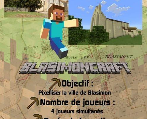 Venez rejoindre l'équipe des Blasimoncrafteurs !