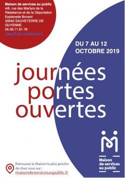 Portes ouvertes de la Maison de services au public du 7 au 12 octobre