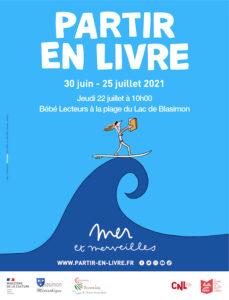 Read more about the article Bébé Lecteurs jeudi 22 juillet à la plage du Lac de Blasimon pour Partir en Livre !