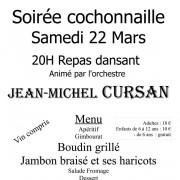 Soirée Cochonailles 22 mars 2014 à Blasimon