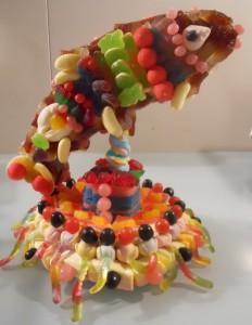 Gâteau de bonbons de la Fée Bonbon