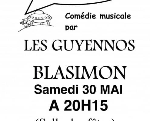 Spectacle des Guyennos à Blasimon, le 30 mai 2015