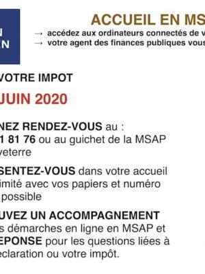 Déclaration des revenus – Accueil MSAP