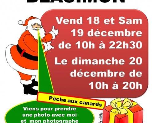 Marché de Noël à Blasimon