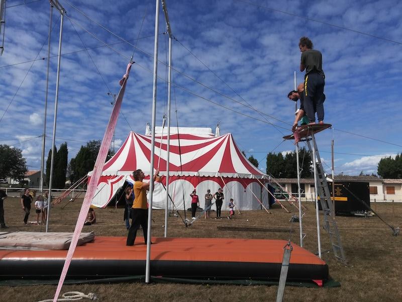 Le Ouistiti Circus à Blasimon