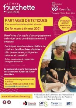 Partages diététiques pour une alimentation plaisir et santé de fin mars à fin mai 2021