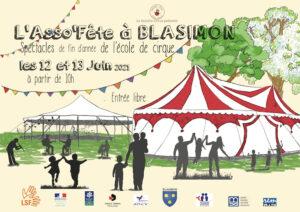 Read more about the article Asso'Fête du Ouistiti Circus les 12 et 13 juin à partir de 10h à Blasimon