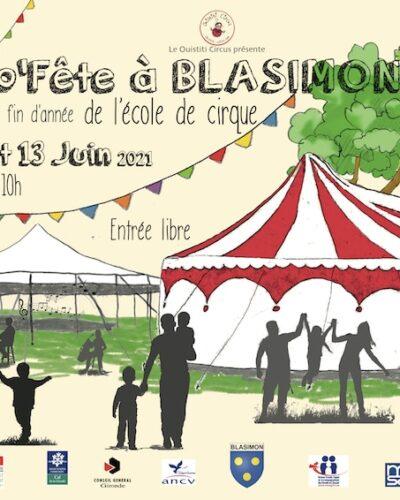 Asso'Fête du Ouistiti Circus les 12 et 13 juin à partir de 10h à Blasimon