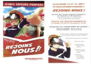 Recrutement jeune sapeur-pompier Sauveterre de Guyenne samedi 19 juin