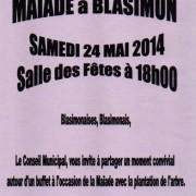 Maïade à Blasimon le samedi 24 mai 2014