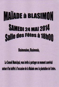 Maïade à Blasimon