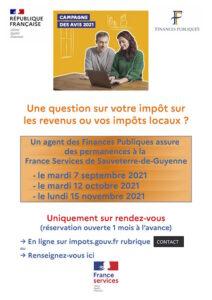 Read more about the article Impots – Déclaration des revenus – Accueil MSAP