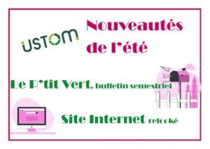 Read more about the article Les nouveaux outils de l'USTOM : Bulletin Semestriel et Site Internet débarquent cet été !