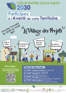 Read more about the article Grande tournée du « Village des projets » du 10 au 19 septembre dans le cadre d'Ambition 2030