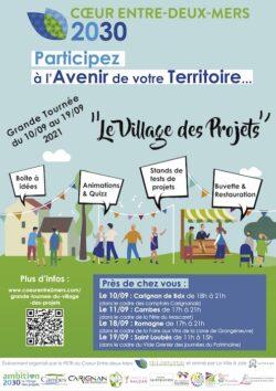 Grande tournée du « Village des projets » du 10 au 19 septembre dans le cadre d'Ambition 2030